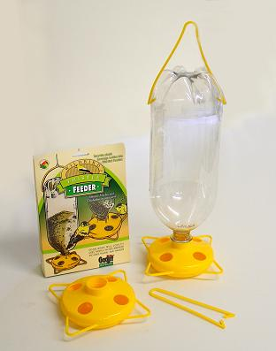 Soda Bottle Thistle Feeder-Sample
