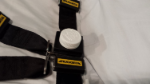 Buckle Guard on stretcher upper/shoulder harness