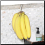 Keep Bananas up off prescious counter-top space, White, Black or Chrome
