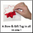 Includes a Gift tag with each bow