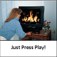 Fireplace Video DVD