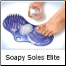 Inserts into the center of Soapy Soles Elite