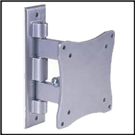 "Articulating Wall Mount with 3"" Extension #201"