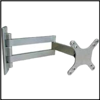 "Cantilever Wall Mount with 15"" extension, #203"