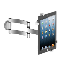 T-203, Universal Tablet Wall Mount and Portable Tabletop Easel