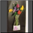 Our Promotional Gift Vase with card pocket is great for a special message or merchandising!