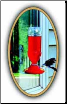 Soda Bottle Hummingbird Window Feeder