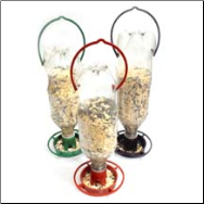 Soda Bottle Hanging Feeder-3 Pack, Poly Bag