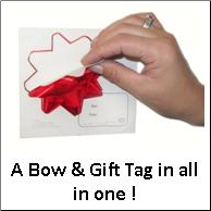 Bow Stickers 12 pack