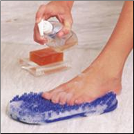 Soapy Soles, Color RETAIL Package