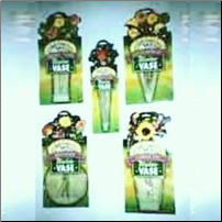 Window Vase Bouquet 30 pc Sampler