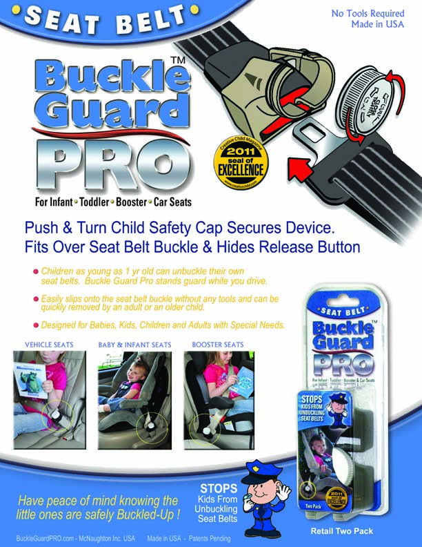 Safety Buckle Guard Buckle Guard Pro Catalog Sheet